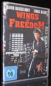 DVD WINGS OF FREEDOM - EIN UNSCHLAGBARES TRIO - DAVID HASSELHOFF + LINDA BLAIR *