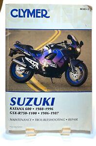 2006-2007 Suzuki GSX-R600 GSX-R750 Cyclepedia Printed Service Manual