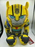 Transformers Authentic Hasbro Bumblebee Robot Plush Kids Soft Stuffed Toy Doll