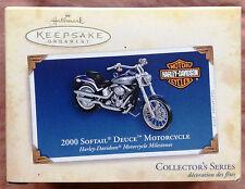 Hallmark Keepsake Harley-Davidson 2000 Softail Deuce Motorcycle NIB
