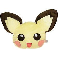 "Pokemon I love Pikachu Pichu 11"" Head Plush Doll Toy Pillow Cushion Plushie NWT"