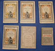 CLASSICI LATINI - P. Virgilio - M. T. Cicerone - C. G. Cesare - Lotto 6 volumi