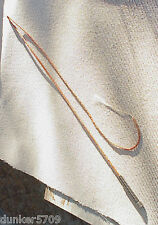 NYLON BRAID BUGGY WHIP 46 INCH HANDLE WITH 52 INCH WHIP.- RUBBER GRIP HANDLE