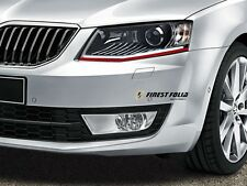 Devil Eye® Scheinwerfer Folie Stripe f Skoda Octavia 1Z 5E RS Superb I II Style