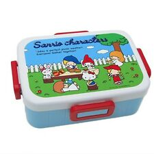 Hello Kitty My Melody Patty Jimmy Sanrio 70's Bento Lunch Box Made in Japan