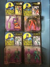 Legends of Batman Action Figure Bundle, Joker, Batman, Riddler (2)
