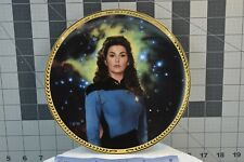 "The Hamilton Collection Counselor Deanna Troiâ""¢ Collector's Plate Stng *Free Ship"