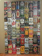 Vintage Beers 1995 poster miller guinness coors heineken fosters 3572