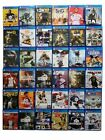PS4 Sony PlayStation 4 Video Games You Choose Various Titles Clean Tested Works