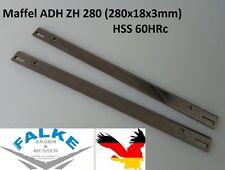 2 Stück Mafell ADH ZH 280 HSS Hobelmesser 280x18x3mm