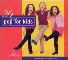 20 Best of Pop for Kids by The Countdown Kids (CD, Jan-2004, Madacy Kids)