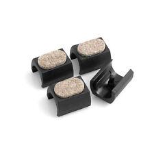 Filzgleiter 4er Set für Freischwinger Stuhlgleiter Bodenschongleiter Ø 24-25 mm