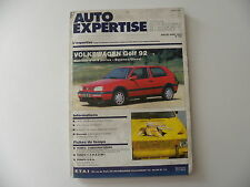 revue automobile AUTO-EXPERTISE VW GOLF berlines 3 et 5 portes à partir de 1992