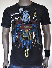OFFICIAL SUPERMAN MAN OF STEEL GOLD VINTAGE LIMITED EDITION T-SHIRT DC COMICS