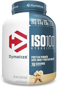 Dymatize Iso 100 Vanilla 5 lbs