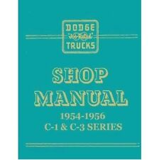 Factory Shop - Service Manual for 1954-1956 Dodge C-Series Trucks