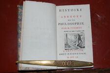 Histoire abrégée de la philosophie, M Formey, 1760,