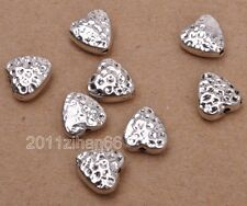 20pcs Tibetan silver heart bead loose spacer beads 8mm Jewelry Making B3090