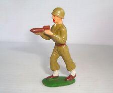 Figurine starlux militaire fantassin type II : chargeur bazooka ref 12