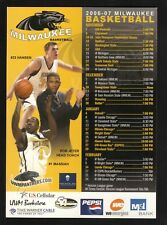 Wisconsin-Milwaukee Panthers--2006-07 Basketball Magnet Schedule