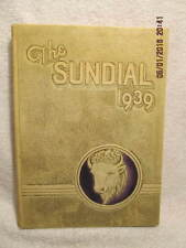 1939 Yearbook Sunset High School Dallas TX Signed by LPGA Founder Betty Mims
