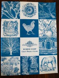 Vintage Rubber Stamp Craft Project Guide Book 1997 - Personal Stamp Exchange