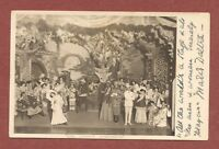 """Marie Daltra, Edwardian actress,  signed card,  """"The Chinese Honeymoon""""    AH930"""