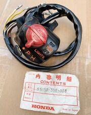 NOS Honda Kill Switch & Light Switch for CJ250T & CJ360T GENERAL EXPORT (KPH)