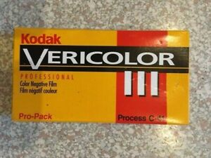 5 Rolls - VPS 120 Kodak Vericolor III Color Negative Film ISO 160 EXP-1999 New