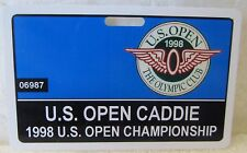 1998 U.S. OPEN CADDIE BADGE-THE OLYMPIC CLUB-LEE JANZEN  VERY HARD TO FIND