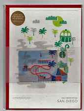 STARBUCKS CHRISTMAS GIFT CARD WITH ENVELOPE! LIMITED ED. 2016 SAN DIEGO SEALED!