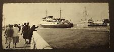 Alte Foto- AK: Maalboot Fähre Koningin Elisabeth Oostende nach  Dover