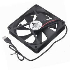 USB Fan 140mm 140x140x25mm DC 5V 0.35A Cooling Fan Quiet PC Computer Case Cooler
