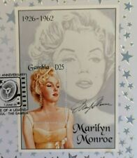 More details for marilyn monroe usa half dollar first day event covers - various anniversaries