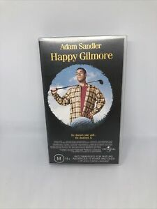 HAPPY GILMORE Adam Sandler VHS Retro Classic Very Good Condition FREE SHIPPING