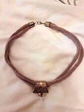 Lovely Vintage Purple Necklace