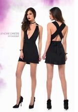 "Patrice Catanzaro ""LENORE"" Sexy Black Dress/Robe Noire/Jurk Zwarte - LARGE - NEW"