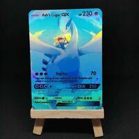 Ash's Lugia GX - Custom Pokemon Card