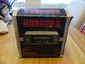 NEW Harvard  Car Radio Cassette Player 1980s Vintage. Boxed