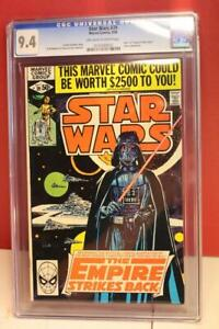 STAR WARS VINTAGE MARVEL COMIC BOOK #39 CGC 9.4 *1980* Off-White to White Pages
