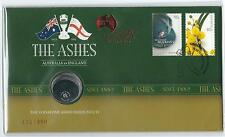 2011 UNC 20c The Ashes Stamp & Coin PNC LIMITED EDITION