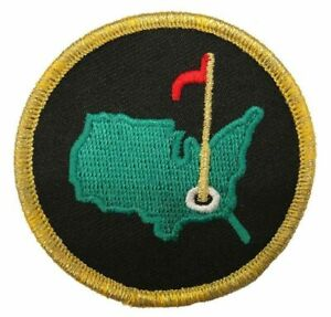 MASTERS AUGUSTA GOLF PATCH [IRON ON SEW ON - 2.5 inch]