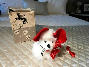 Vintage Genuine Fur 'Jerry Pets' MISSIE THE MOUSE from Jerry Elsner Co. - U.S.A.