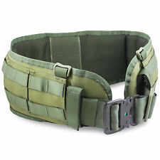 Bulldog MKII MOLLE Combat Modular Military Army Tactical Padded Belt Pad Green