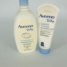 Aveeno Baby Daily Moisturizing and Eczema Therapy Lotion Set *Expired*