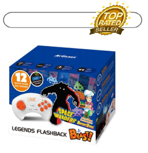Legends Flashback Blast 12 built in games Space Invaders Burger Time & More /