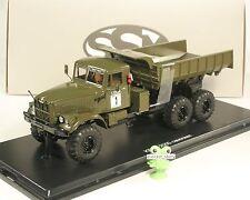 1:43 Kraz 255b militare Kipper 6x6 SSM USSR CAMION URSS URSS DDR Soviet Russia