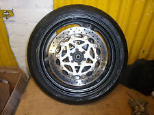 yamaha xjr1200 front wheel with brake discs and tyre