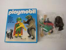 Playmobil ancien état neuf en boite sachet scellé - dresseur d'ours 3567