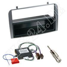 ALFA ROMEO 147 GT 1-din pannello radio Antracite + ISO attivo sistemi Adattatore Cavo Set